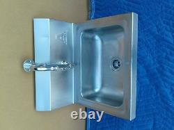 12 X 16 Wall Mount Nsf Hand Wash Sink Commercial Restaurant Stainless Steel