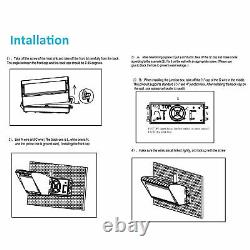 16,000LM Commercial LED Wall Pack Light IP65 Outdoor Building Mounted Lamp 150W