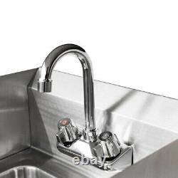 17 Stainless Steel Wall-mounted Hand Sink Washing Commercial Kitchen Heavy Duty