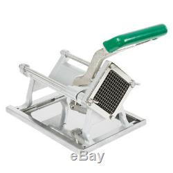 1/4 Commercial French Fry Cutter Vegetable Chopper Dicer Wall Mount Restaurant