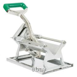 1/4 Heavy-Duty French Fry Cutter Slicer Dicer Copper Commercial Wall Mount NSF
