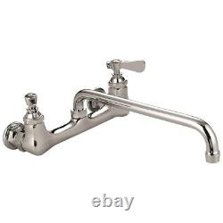 1 Set 8 Wall Mount Faucet Heavy Duty Commercial with8 Spout # AA-808G