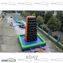 20x20ft Commercial Inflatable Mountain Climbing Wall With Air Blower