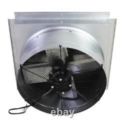 24 In. 4100 Cfm Wall Mount Industrial Exhaust Fan