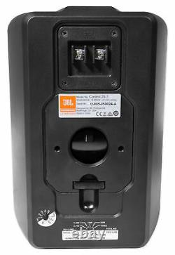 (2) JBL Control 25-1 5.25 30w 70v Wall-Mount Commercial Restaurant/Bar Speakers