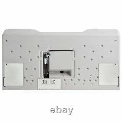 2 PACK Baby Restroom Changing Station Table Wall Mount Gray Commercial Bathroom