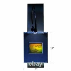 3D NEC Commercial Projector Hologram Picture LIGHTED WALL MOUNT, Photopolymer