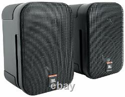 (4) JBL C1PRO Control 1 PRO Black 5.25 Wall Mount Home/Commercial Speakers