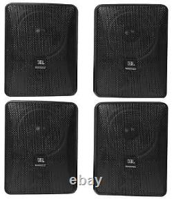 (4) JBL Control 25-1 5.25 30w 70v Wall-Mount Commercial Restaurant/Bar Speakers