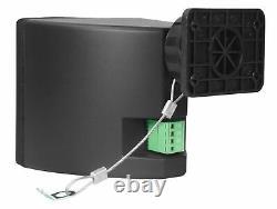 6 Rockville Cube 70v Black 3.5 Commercial Swivel Wall Mount Restaurant Speakers