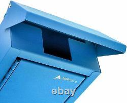 AdirOffice Outdoor Large Key Drop Box Commercial Grade Heavy-Duty Storage Box