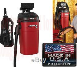 Auto Shop Wall Mount Vacuum Cleaner Upholstery Commercial Shop Vac
