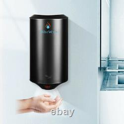 Automatic Commercial Electric Hand Dryer Stainless Steel Wall Mounted-(Black)