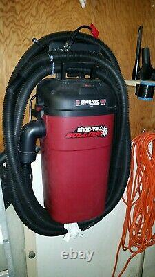 Automotive Vacuum Cleaner WALL MOUNT Wet Dry Upholstery Commercial Shop Vac Car
