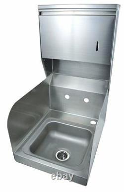 BK Resources Splash (Wall) Mount commercial Hand Sink