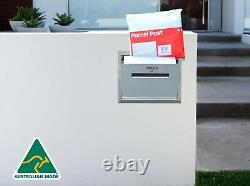 Brick in Letterbox parcel letterbox 100% stainless steel secure drop box