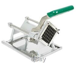 Commercial French Fry Vegetable Cutter Chopper Dicer Wall Mount Restaurant 1/2