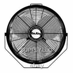 Commercial Grade Ceiling Mount Fan 12 3-Speed Air Circulator Garage Shed Barn