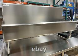 Commercial Heavy Duty Stainless Wash Sink Wall Mount 48 304S