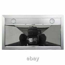 Commercial-Style 36 In. 4.5 Cu. Ft. Gas Range With 36 In. Ducted Wall Mount R