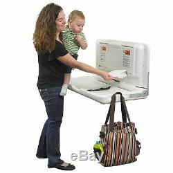 Commercial Wall Mount Baby Changing Table Station Diaper Change Bathroom Changer
