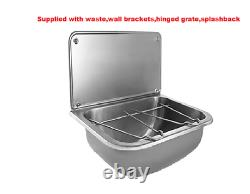 Commercial wall mounted mop bucket sink 460Wx340Dx407Hmm 38mm BSP waste included