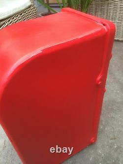 ER Royal Mail Post Box Cast Iron post BOX post Office BOX Red British mailbox