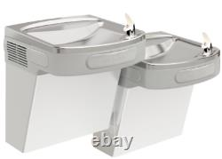 Elkay EZSTLR8SC Versatile Cooler Wall Mount Bi-Level ADA Non-Filtered