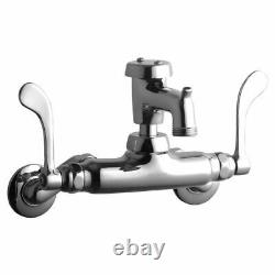 Elkay LK945BP03T6T Wall Mount Commercial Faucet. Brand New