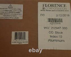 Florence 1250 Vertical Series 5-Compartment Aluminum Recess-Mount Mailbox