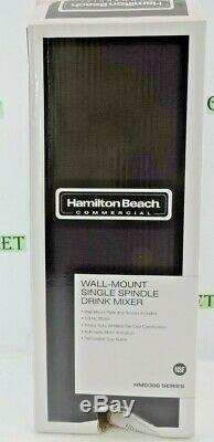 Hamilton Beach Commercial Wall-Mount Single-Spindle Mixer (HMD300)