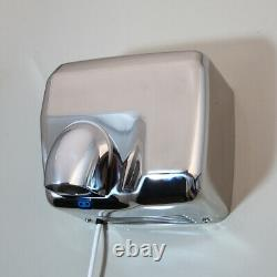 Hand Dryer Automatic Electric Wall Mounted Bathrooms Commercial Stainless Steel