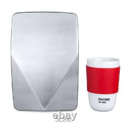 Hand Dryer V DRY High Speed Very Compact Commercial White Steel Refurbished