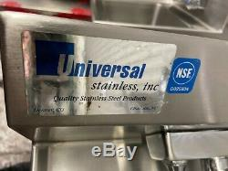 Hand Wash Sink Wall Mount Towel Dispenser NSF Commercial Stainless Steel #4032