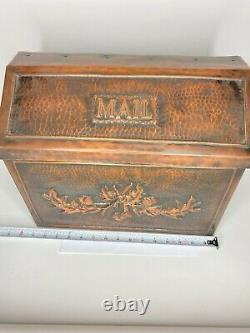 Handmade Copper Mailbox