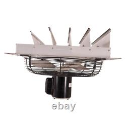 Hessaire Exhaust Fan Shutter Mounted Variable Speed Home Commercial 1785 CFM New