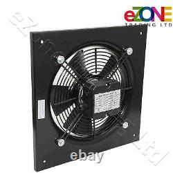 Industrial Wall Mounted Extractor Fan 18 Commercial Ventilation +Speed Control