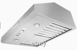 KitchenAid KXW8736YSS Commercial Style 36 Wall Mount Canopy Hood Stainless