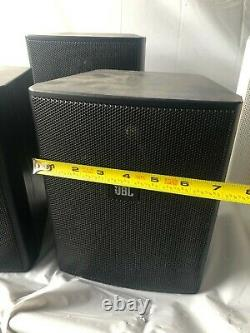 Lot of 3 JBL CONTROL 25 150W 8ohm WALL-MOUNT COMMERCIAL INDOOR OUTDOOR SPEAKERS