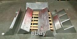 Lot of (5) Stainless Steel Wall Mount Shelve Restaurant Commercial Kitchen Shelf