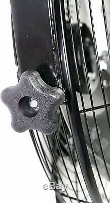 Maxx Air Wall Mount Fan, Commercial Grade for Patio, Garage, Shop, Easy
