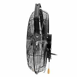 Maxx Air Wall Mount Fan Commercial Grade for Patio Garage Shop Easy Operation