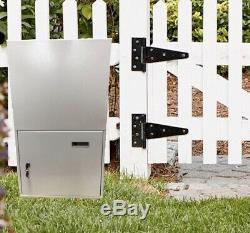 Mounted Fence Parcel Letterbox Mailbox