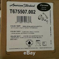 NEW American Standard 1662213.002 FloWise Commercial Chrome Shower System Kit