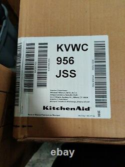 NEW KitchenAid 36 Cmf Commercial-Style Wall-Mount Canopy Range Hood KVWC956JSS