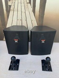 PAIR JBL CONTROL 25 150W 8ohm WALL-MOUNT COMMERCIAL INDOOR OUTDOOR SPEAKERS