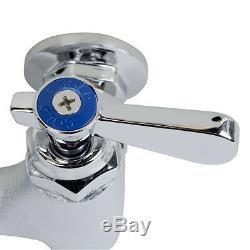 Regency Wall Mount Mop Sink Faucet Vacuum Breaker Commercial Floor Bucket NEW