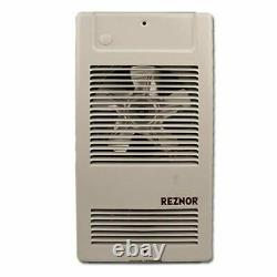 Reznor EHL-1500 Residential/Commercial Wall Mounted Electric Heater, 120V, 1