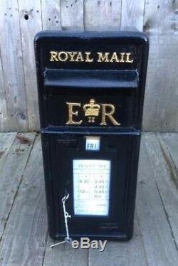 Royal Mail Post Box Black British Post Box Machan Scotland Chubb Lock