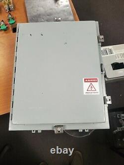 SCE WALL MOUNT ELECTRICAL ENCLOSURE 20 x 16 x 8 NEMA 4,12 SCE-20H16BLP